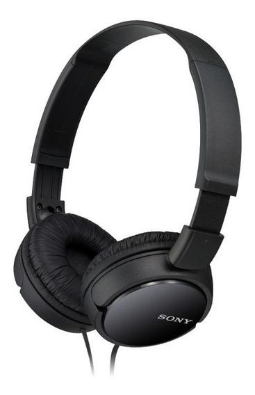 Fone De Ouvido Sony Preto Zx110 Headphone Original + Nfe