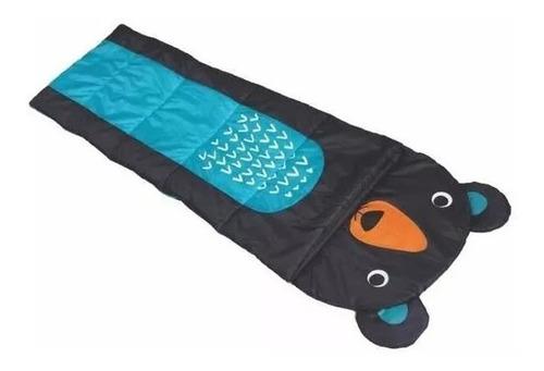 Sobre De Dormir De Niño P/ Acampar Diseño Infantil Oso Febo