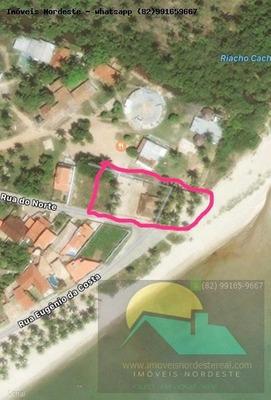 Terreno Para Venda Em Paripueira, Centro - Te-14