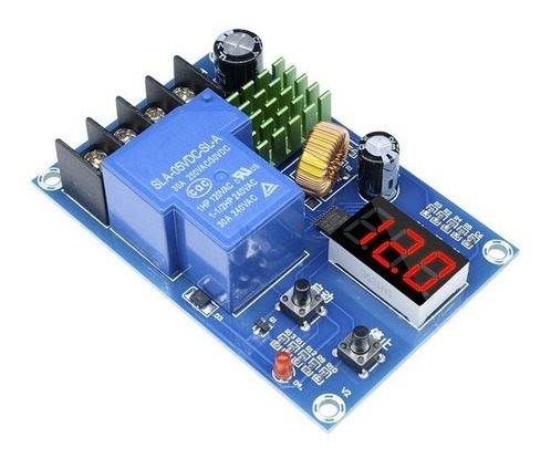 Carregador De Bateria Controlador Carga Dc 6-60 Xh-m604 30a
