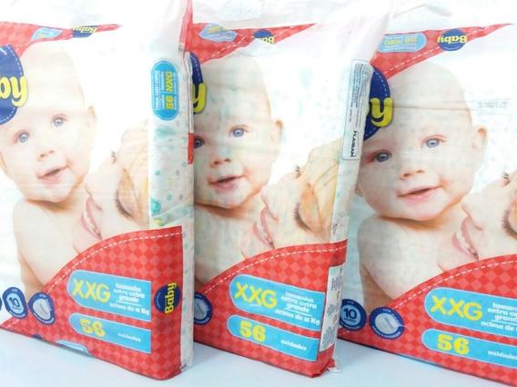 168 Fraldas Primeiro Baby Tamanho Xxg 10hr Proteção Promoção