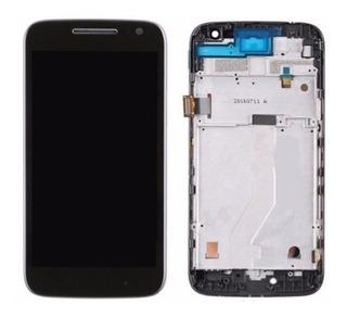 Modulo Display Lcd Tactil Motorola Moto G4 Play Xt1601 Negro