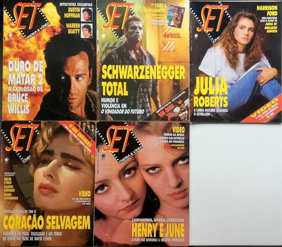 Revista Set Coleção Completa 1990 A 1998 Em Perfeito Estado