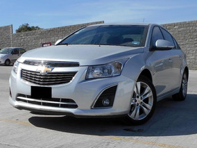 Chevrolet Cruze Lt At 2014 Plateado