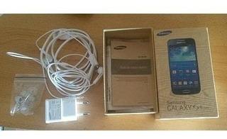 Celular Samsung Galaxy S4 Mini I9193 Azul Dualcore 8gb New