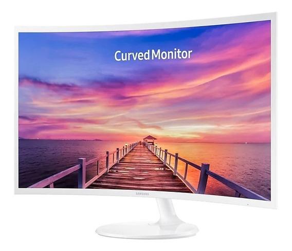 Monitor Curvo Full Hd Samsung Led 32 C32f391 - Hdmi, Dp, En