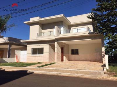 Casa Residencial À Venda, Com 285,68 M², No Condomínio Santa Isabel, Paulínia - Ca0035. - Ca0035