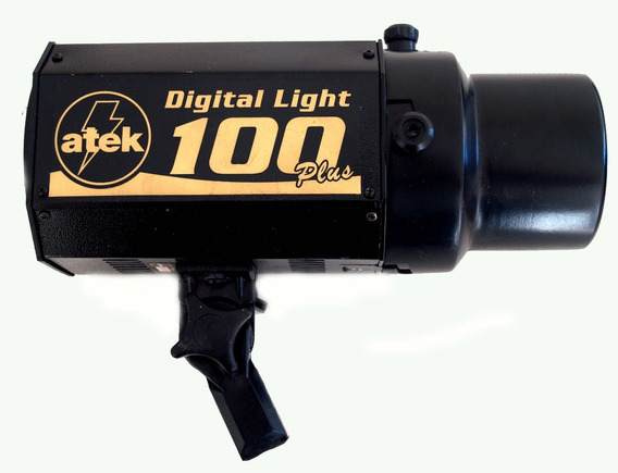 Flash De Estúdio Atek 100 Plus Digital