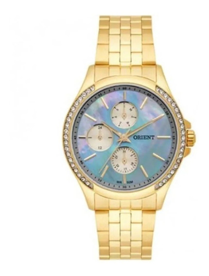 Relógio Orient Feminino Fgssm051 B1kx Dourado