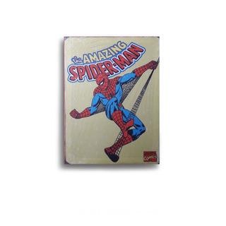Cuadro Mediano Retro Spiderman Comic Arte Decoracion 20x30