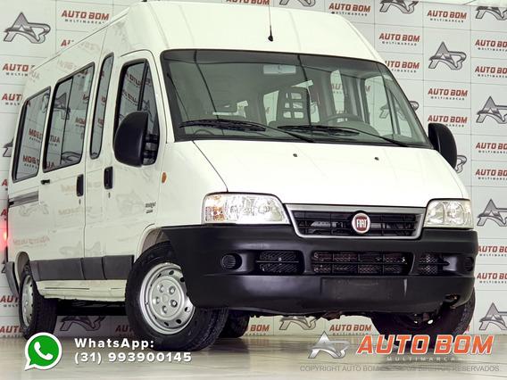 Fiat Ducato Multijet Minibus 2.3 16v Diesel Teto 15 Luga...