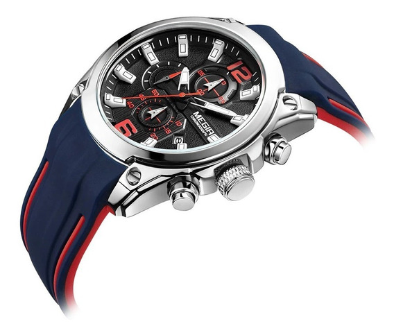 Relógio Masculino Megir 2063 Original Prova D