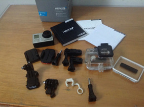 Gopro Hero 3+ Silver + Sd 64gb + Suction Cup