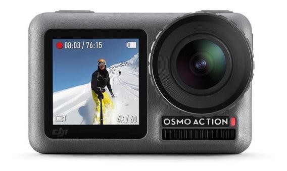 Camera Filmadora Digital Dji Osmo Action 4k C/ Nota Fiscal