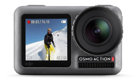 Camera Filmadora Digital Dji Osmo Action 4k Lacrado