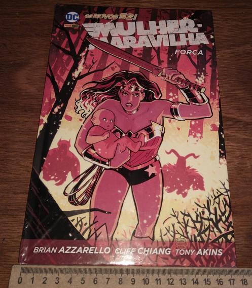 Mulher Maravilha - Força Hq Graphic Novel Novo Lacrado