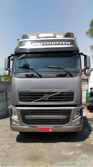 Volvo Fh 460 6x2 Globetrotter (e5), Prata, 2014 / 2014