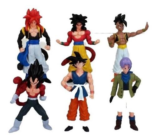 Figuras De Dragon Ball Saga  Gt Somos Tienda Física