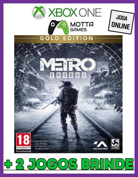 Metro Exodus Gold Edition - Xbox One Online + 2 Brindes