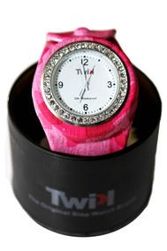 Relógio Twik Slap Army Pink ( Rosa)