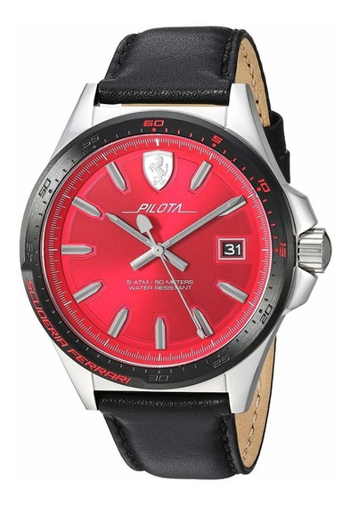 Relógio Masculino Ferrari 830489 Importado Original