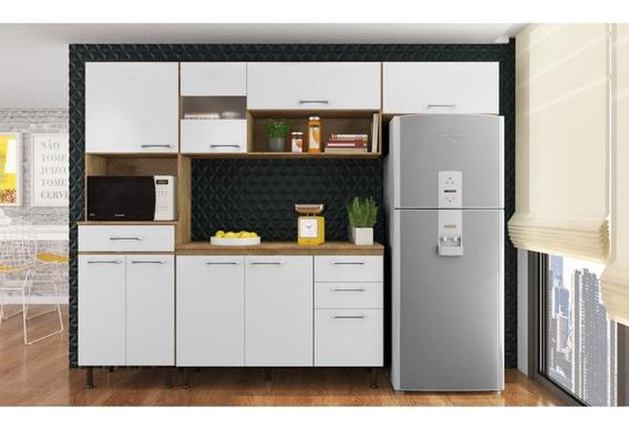 Cozinha Compacta Luma 4 Peças Com Balcão E Tampo Bcwt