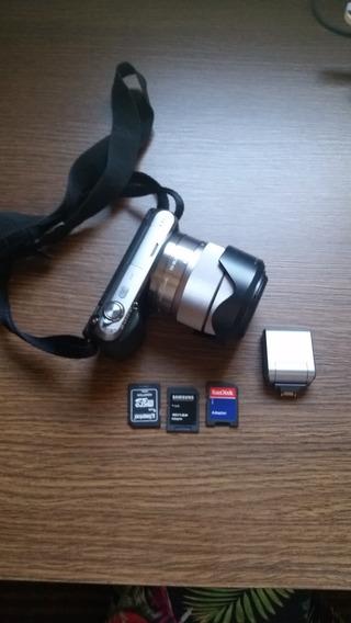 Máquina Fotográfica Sony Nex C3 16.2 Mega Pixel