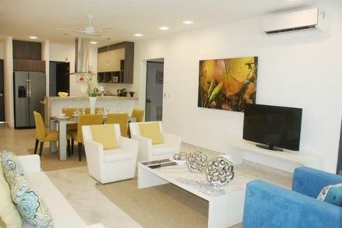 Residencial Palmaris Desarrollo Palmetto 20. Departamento Para Estrenar En Venta Batia 3 Recámaras Con Jardín Gh1. Cancún, Quintana Roo
