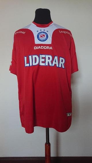 Camiseta Argentinos Juniors Diadora 2010 Campeon