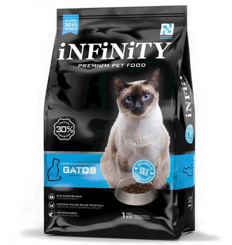 Alimento Gatos Adultos Infinity Premium 1 Kg