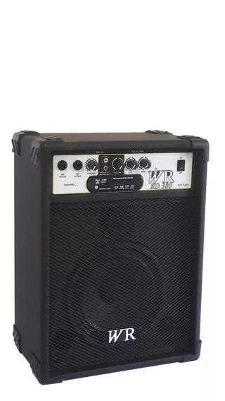 Caixa De Som Amplificada Bluet Microfone/guitarra/violão 50w