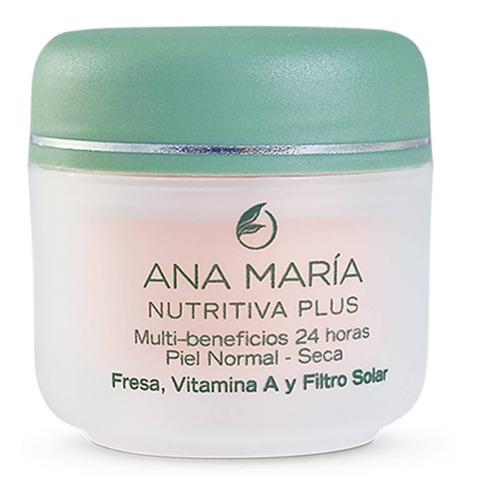 Imagen 1 de 3 de Crema Nutritiva Plus Fresa Ana María - g a $815