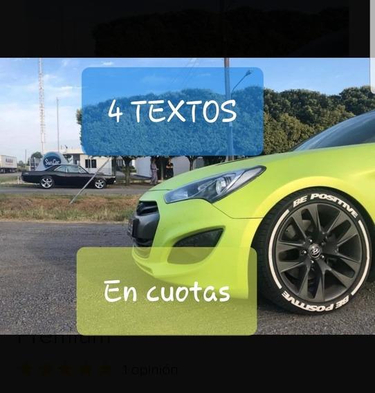 Calcos Autos Cubierta Llanta