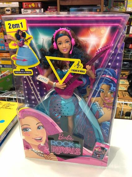 Barbie Princesa Rock N Royals - Negra