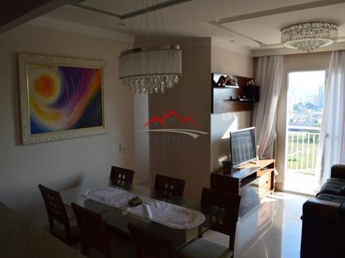 Excelente Apartamento Para Venda No Vista Park Residencial Em Jundiaí. - Ap00063 - 34408251
