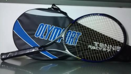 Raquete Tênis Olymport Pro Original Com Capa - Novo