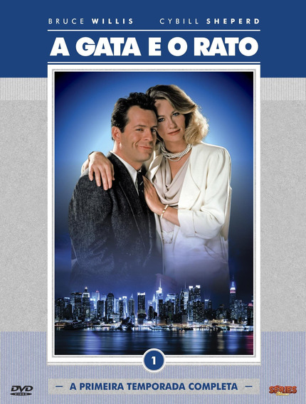 A Gata E O Rato 1ª Temporada - Box Com 2 Dvds - Bruce Willis