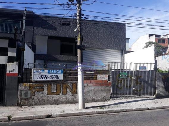 Galpão Para Alugar, 250 M² Por R$ 5.700,00/mês - Jardim Nossa Senhora Do Carmo - São Paulo/sp - Ga0088