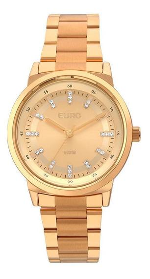 Relógio Euro Feminino Metal Colors Eu2036ylg/4x - Rose Gold