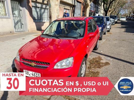 Chevrolet Corsa Classic Super 2011 Rojo 4 Puertas