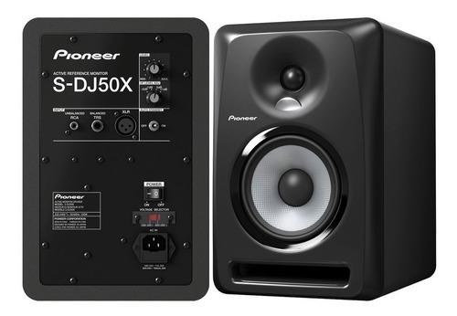 Monitor De Studio Dj Pioneer S-dj50x El Par Tecnomixaudio