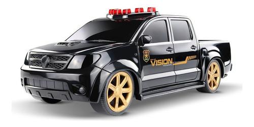 Imagem 1 de 3 de Caminhonete Hilux Toyota Policia Federal Roma Brinquedos
