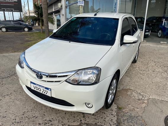 Toyota Etios 1.5 Xls 6mt Vehiculosdeloeste
