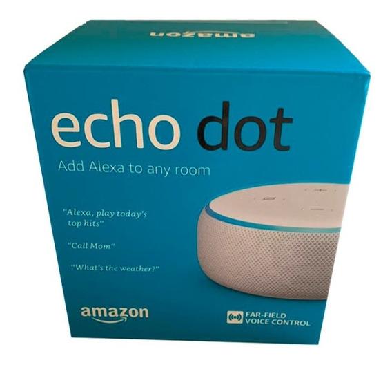 Echo Dot Speaker Alexa 3º Geração - Branca