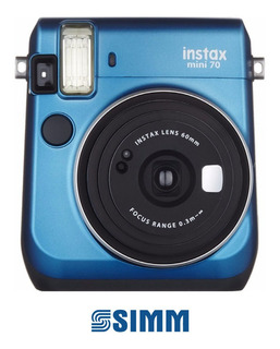 Fujifilm Instax Mini 70 Azul Isla - Simmcye