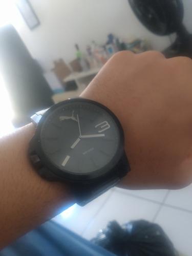Relógio Puma Ultrasize Preto Aço