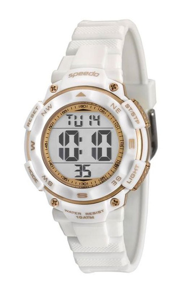 Relógio Speedo Feminino Branco 80616l0evnp2