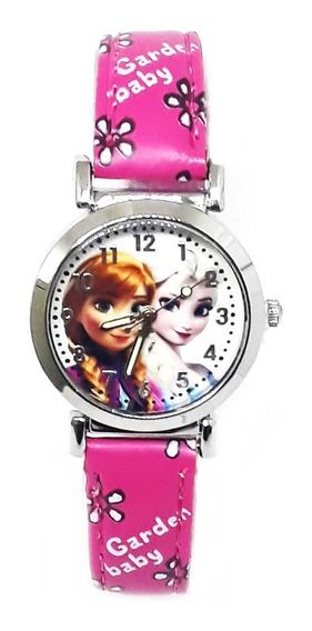 Relógio Ana Elsa Frozen Disney Mini Infantil Pronta Entrega!
