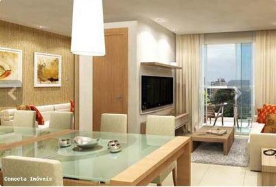 Apartamento Para Venda Em Vitória, Jardim Camburi, 2 Dormitórios, 1 Suíte, 2 Banheiros, 1 Vaga - 15276