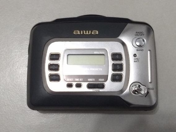 Walkman Aiwa Hs-tx377 Década De 90 (toca Fitas Não Funciona)